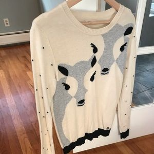 Anthropologie winter sweater
